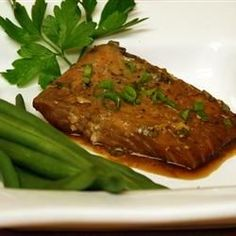 """Grilled Salmon Kyoto I """"This is a great recipe. Easy and beautiful to look at! A real pleaser."""""""