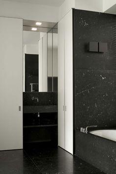 Bathroom by Daskal Laperre - KL Residence in Brussels Belgium