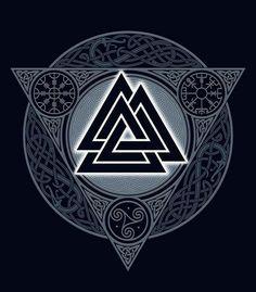 tatouage viking idée symbole celte valknut tatouage