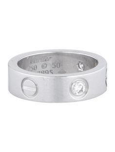3f66fa5ed06 Cartier Diamond LOVE Ring Cartier Love Band