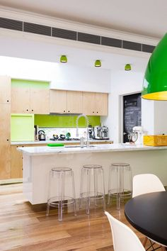 #Colorful #kitchen Charming Interior Modern Style Ideas