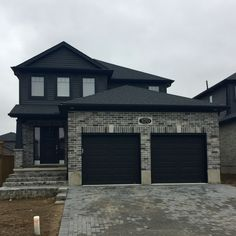 Custom Built Home since 1995 Types Of Bricks, Custom Built Homes, Curb Appeal, New Homes, Mansions, House Styles, Building, Outdoor Decor, Home Decor