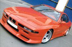 BMW 850 orange