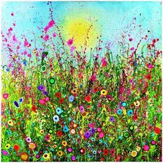 Enchantment - Yvonne Coomber - wonderful paintings and prints. #painting #art #YvonneCoomber