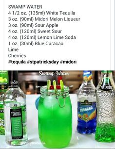 Swamp Water from Tipsy Bartender