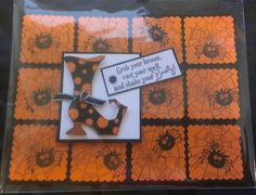Halloween shoes stampin up