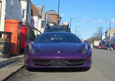 Ferrari 458 Italia 'Purple'   Flickr - Photo Sharing!