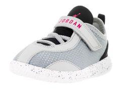 68f85cf639ed Nike Jordan Toddlers Jordan Reveal Gt Wolf Grey Vivid Pink Black Wht Basketball  Shoe 7 Infants US