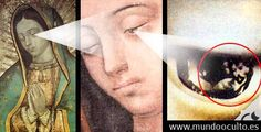 "The eyes of the image of Our Lady of Guadalupe are one of the great enigmas of science, according to a Peruvian engineer José Tonsmann, who has extensively studied this ""mystery."" This gradu… Catholic Prayers, Catholic Art, Roman Catholic, Blessed Mother Mary, Blessed Virgin Mary, Mysterious Events, Mama Mary, Catholic Religion, Mary And Jesus"
