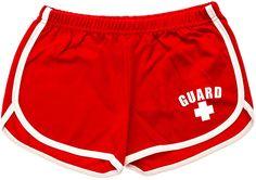 Lifeguard Uniforms, Lifeguard Outfit, Swim Shorts Women, Swimsuit With Shorts, Gym Shorts Womens, Cute Shorts, Casual Shorts, Casual Outfits, Women's Shorts