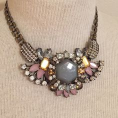 Spotted while shopping on Poshmark: Antique Looking Statement Necklace! #poshmark #fashion #shopping #style #Jewelry