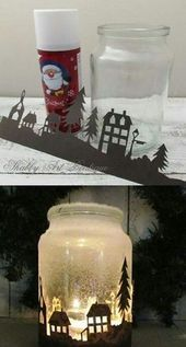 Fantastic Free of Charge old Candles Lanterns Suggestions Luminous made of wax vessel lamps are certainly one associated with my personal favorite solutions t Mason Jar Christmas Crafts, Mason Jar Crafts, Mason Jar Diy, Christmas Deco, Bottle Crafts, Diy Christmas Gifts, Christmas Projects, Handmade Christmas, Holiday Crafts