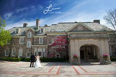 Graydon Hall Manor Wedding Photography Front Entrance