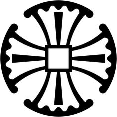 The Canterbury Cross - symbol of Anglicans - The Anglican church that was started with Henry VIII, the Anglican church is not Lutheran, it has a catholic structure with a hierarchy of bishops and liturgy.