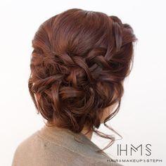Bridesmaid style. #hairandmakeupbysteph
