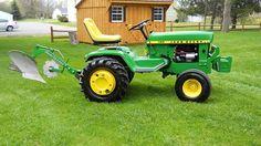 1974 JD uploaded in John Deere: Small Tractors, Compact Tractors, Old Tractors, Lawn Tractors, Antique Tractors, Vintage Tractors, Adventure Time Drawings, John Deere Garden Tractors, Tractor Drawing