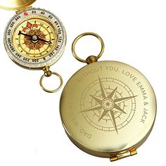 Gifts For Golfers, Gifts For Him, Engraved Gifts, Personalized Gifts, Garden Gifts, Novelty Gifts, Birthday Presents, Compass, Christmas Gifts