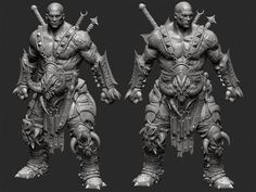 http://www.zbrushcentral.com/showthread.php?187020-Barbarian