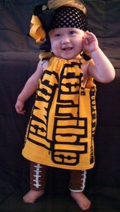 912d3102c PITTSBURGH STEELERS~Terrible Towel dress by BoochieOnline on Etsy