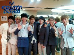 The young princes of Cube Entertainment are here! #BTOB #KPOP #Mnet #Mcountdown