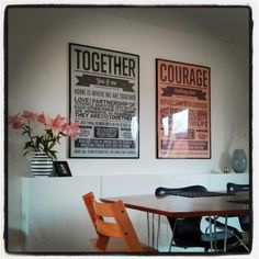 Poster and kitchen inspo