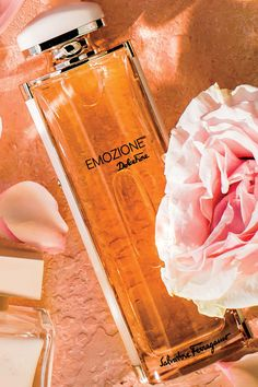 Rose   Peony - 5 Rose-Scented Perfumes for Valentine's Day - Southernliving. Salvatore Ferragamo Emozione Dolce Fiore Eau de Toilette, $99; macys.com The most complex in the group, this beautiful scent is layered with notes of white peach, bergamot, and suede.