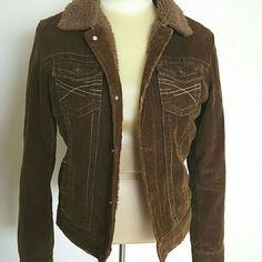 Gorg Brown Corduroy Jacket