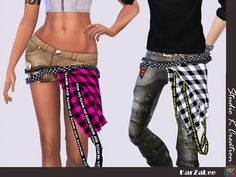 Studio K Creation - Accessories belt for The Sims 4