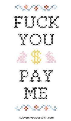 PDF: Fuck You Pay Me