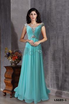 Blue princess dress, long dress, blue dress sweet ground