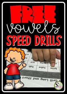 Grab your FREE full set of Long and Short Vowels Speed Drills to use during guided reading. Great for practicing vowel discrimination and building automaticity with decoding long and short vowel words. Perfect for and grade readers in small group. Beginning Of The School Year, The New School, New School Year, Summer School, Reading Centers, Reading Fluency, Guided Reading, First Grade Classroom, School Classroom