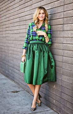 plaid shirts | Grown and Curvy Woman