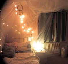 Lovely romantic bedroom!