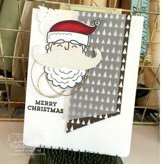 Santa Stache, Stampin' Up!