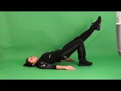 spiertraining voor lage- rug en bekken - YouTube