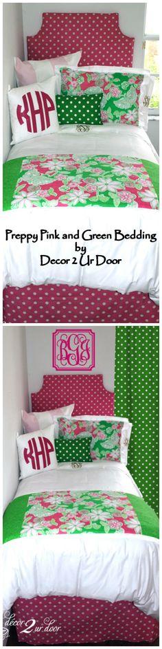coral/orange dorm room bedding | green, quilt and ux/ui designer