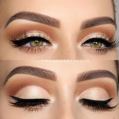 Eyeshadow And Eyeliner Technique Ideas That Will Bring Your Eyes To The Fore. Page Number 20 - Makeup Tips Tutorials Makeup Trends, Makeup Inspo, Makeup Inspiration, Makeup Tips, Beauty Makeup, Makeup Ideas, Makeup Style, Makeup Geek, Makeup Tutorials