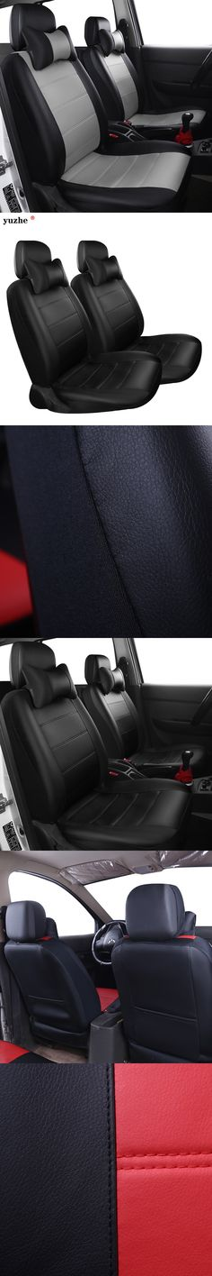 Yuzhe PU Leather Auto Universal Car Seat Covers Automotive Seat Covers for toyota lada kalina granta priora renault logan