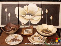 Cuencos en pasta piedra : DeArtesanias - Feria virtual de artesanos argentinos