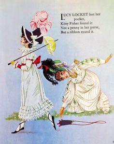 Dean S Mother Goose Book Of Rhymes By Janet Grahame Johnstone Ilrator Anne Pigtails Vintage Nursery