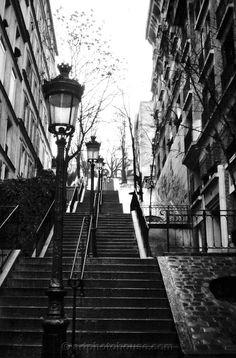 Escaleras en París.