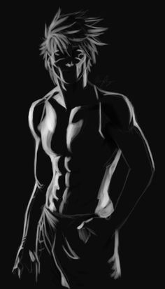 "nyteangel: ""Kakashi in a dark room. First time using Clip Studio Paint. Just messing around with light sources. Reference """