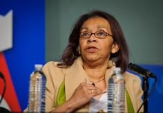 Shirley Malcom, head of Education and Human Resources at AAAS, talks during a discussion on the implications from the Minority Male  STEM Initiative at the Symposium on Supporting Underrepresented Minority Males in Science, Technology, Engineering and Mathematics (STEM) on Tuesday, Feb. 28, 2012 at NASA headquarters in Washington. (Paul E. Alers/NASA via Creative Commons)