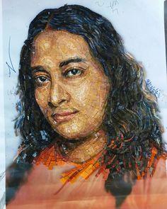 Mosaic Crafts, Mosaic Art, Mosaic Portrait, Unique Art, Art Projects, Contemporary Art, Sculptures, Inspiration, Portraits