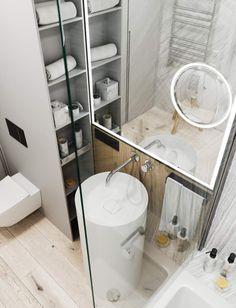 Эта современная квартира площадью 65 квадратных метров была разработана дизайнерами студии Artpartner