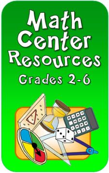 Math Center and Math Station Resources