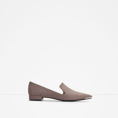 Image 1 of METAL TOE SLIPPER from Zara