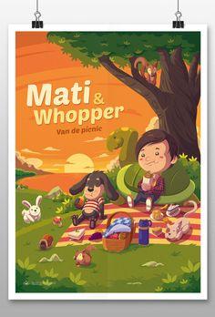 Mati&Whopper on Behance