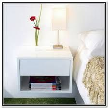 Image result for wall mounted bedside tables