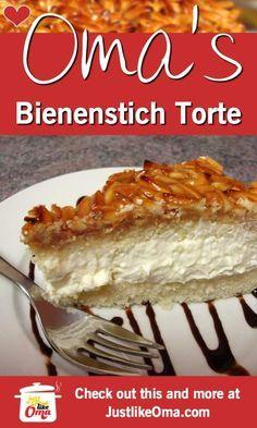 Bienenstich Cake: German bee sting cake recipes recipes chicken recipes chicken recipes Source by simplyhappyfoodie German Bee Sting Cake, German Cake, German Bread, German Desserts, Just Desserts, German Recipes, Austrian Recipes, French Recipes, Baking Recipes